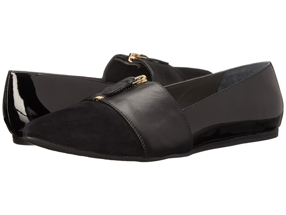 Franco Sarto - Holland (Black) Women's Dress Flat Shoes