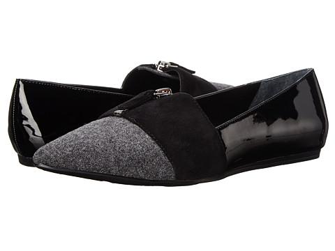 Franco Sarto - Holland (Grey/Black) Women's Dress Flat Shoes