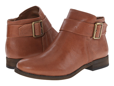 Franco Sarto - Holmes (Dark Honey Leather) Women's Zip Boots
