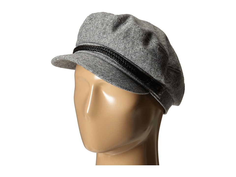 Brixton - Fiddler Cap (Light Heather Grey) Caps