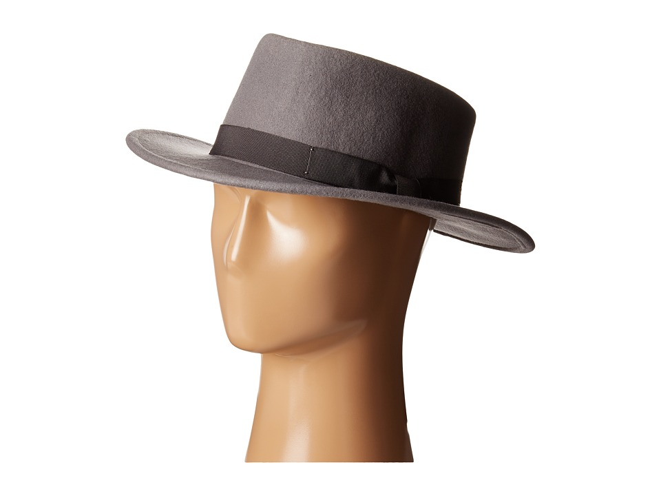 Brixton - Alex Hat (Grey) Fedora Hats