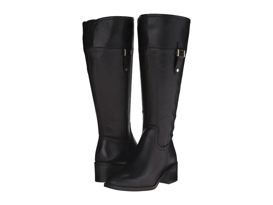 Franco Sarto - Lizbeth Wide Calf (Black) Women's Shoes