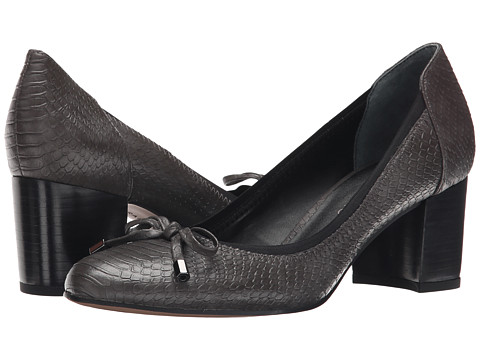 Franco Sarto - Republic (Charcoal Grey) Women's Slip-on Dress Shoes