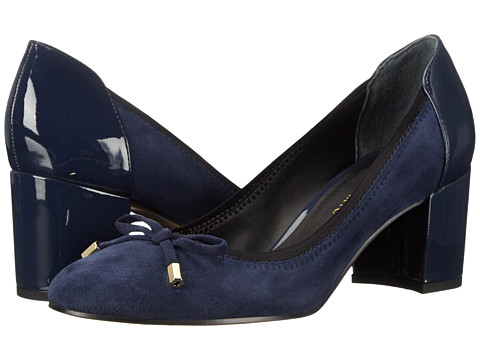 Franco Sarto - Republic (Twilight Blue) Women's Slip-on Dress Shoes