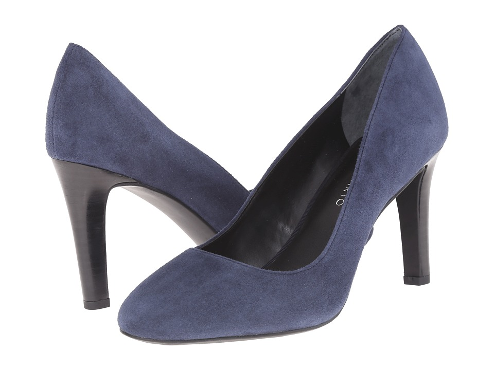 Franco Sarto - Caspian (Twilight Blue Suede) High Heels