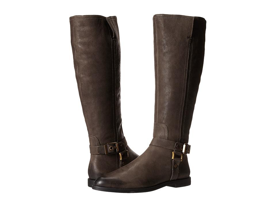 Franco Sarto - Vantage (Grey Leather) Women's Zip Boots