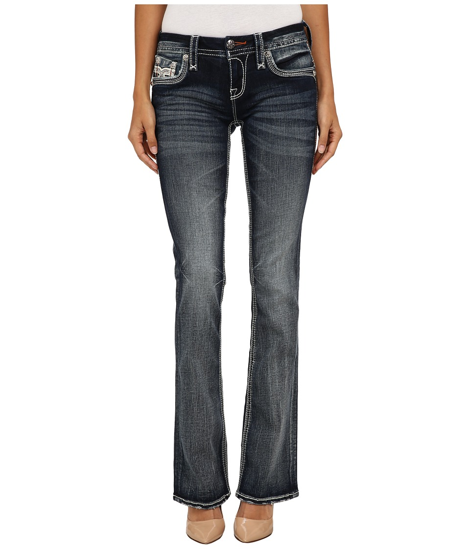 Rock Revival - Yeon B202 Bootcut (Medium Blue) Women's Jeans