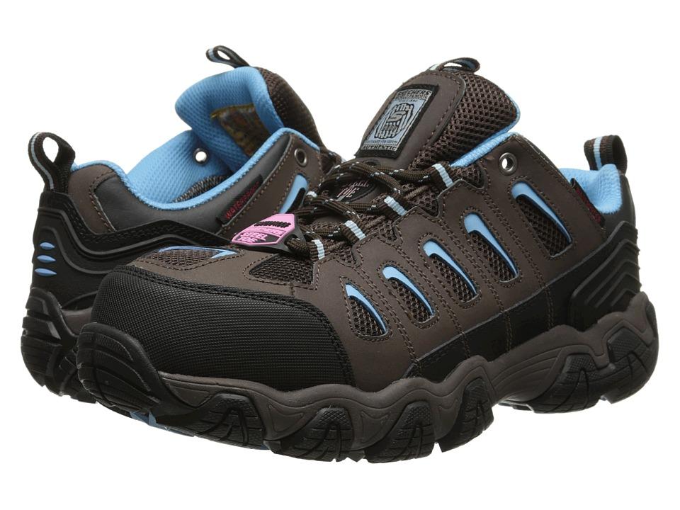 SKECHERS Work - Blais - Athol (Brown/Black) Women's Shoes
