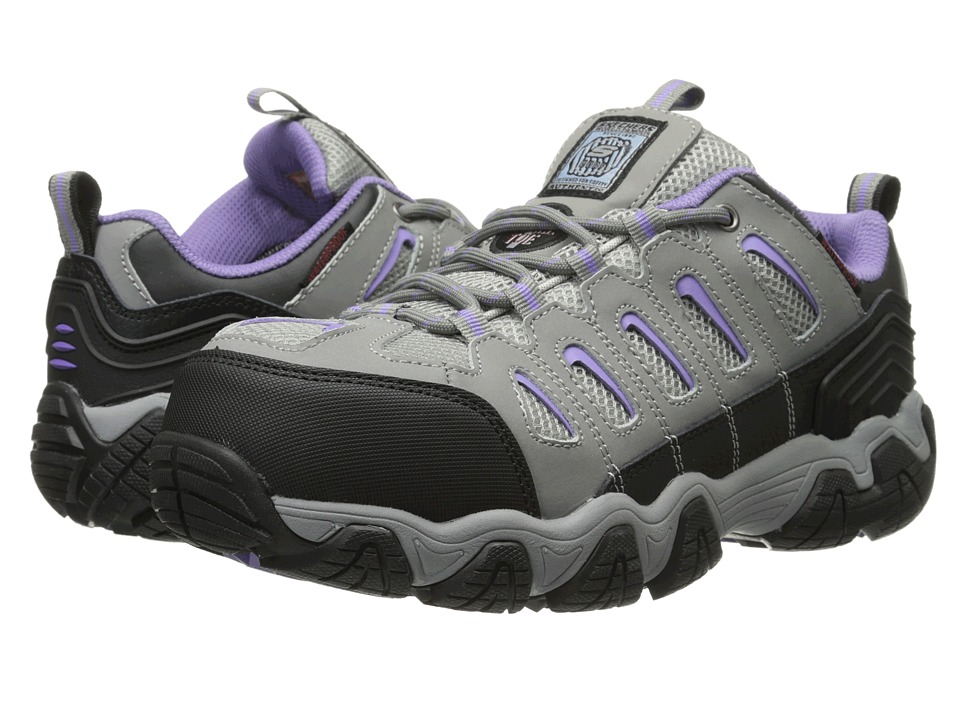 SKECHERS Work - Blais - Athol (Gray) Women's Shoes