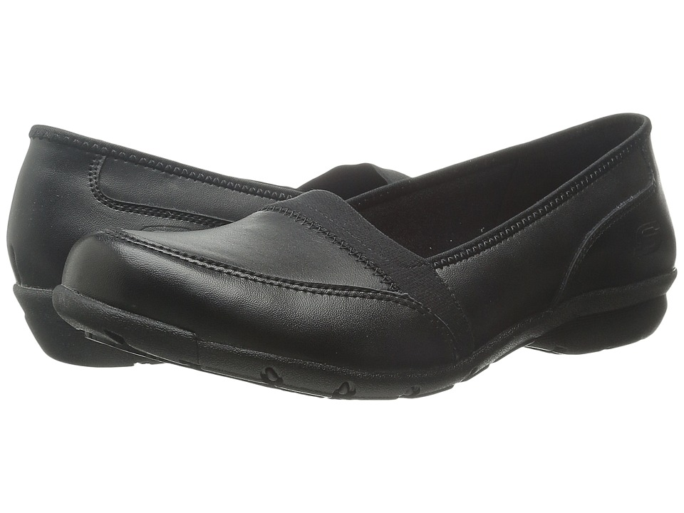 SKECHERS Work - Buras (Black) Women's Shoes