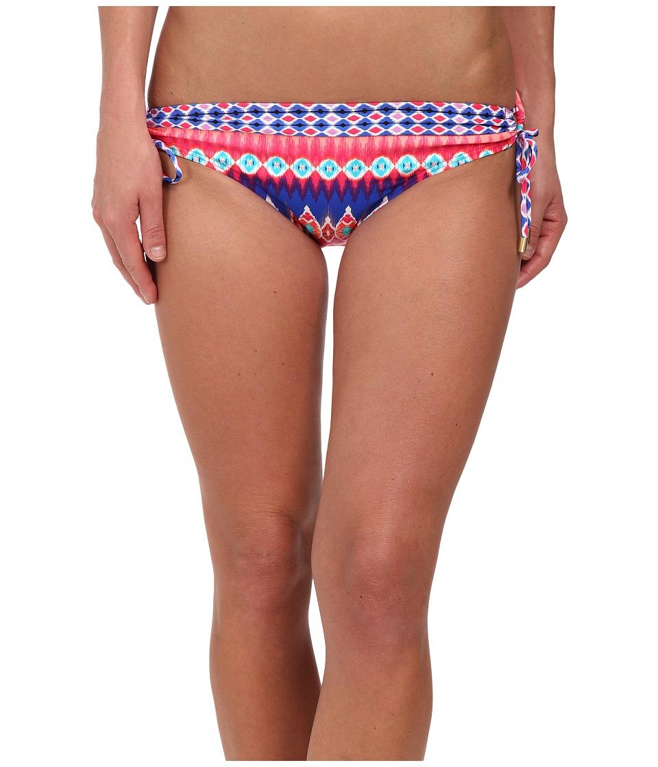 La Blanca Sandbar Loop Side Hipster Bottoms (Pinkberry) Women
