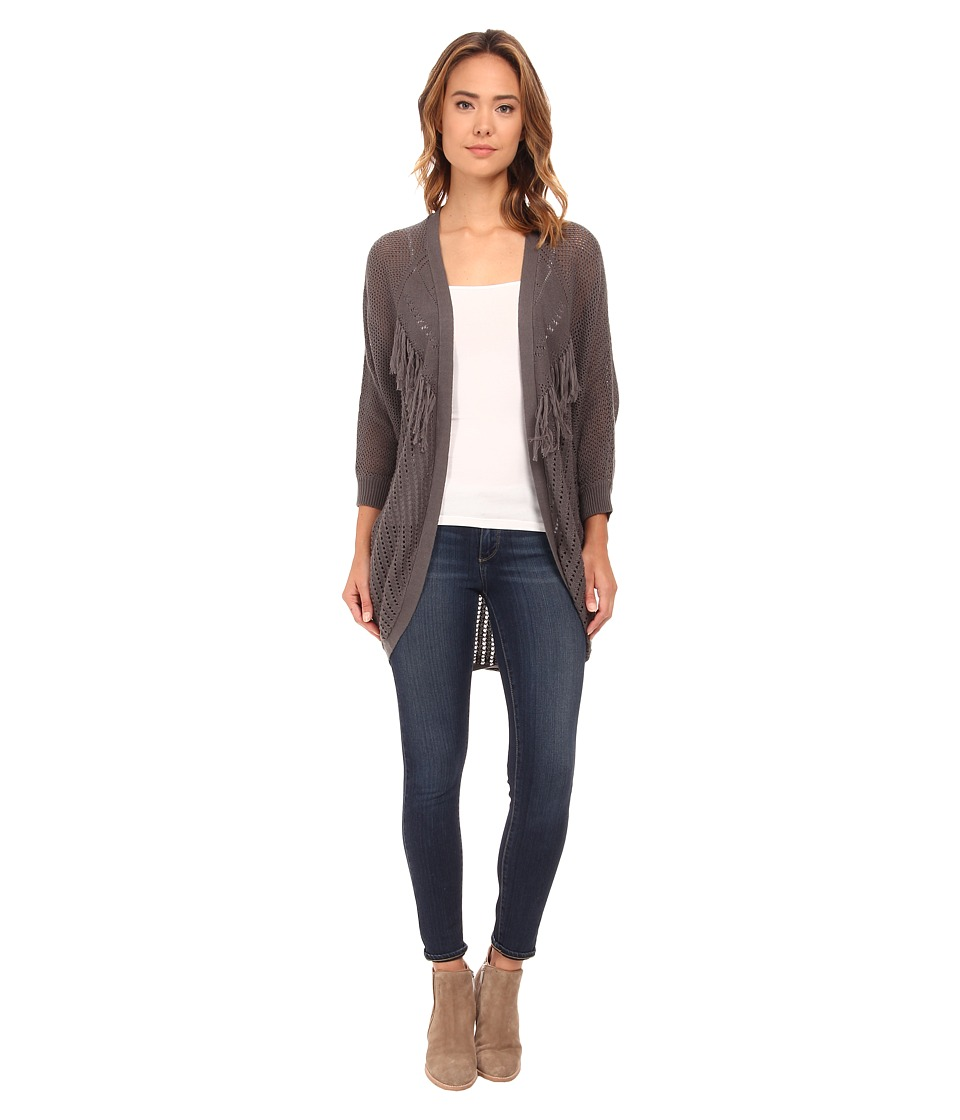 Rip Curl - Desperado Cardigan (Grey) Women's Sweater
