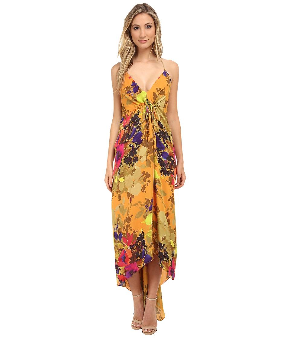 Nicole Miller - Angelina Maxi Dress (Marigold) Women's Dress