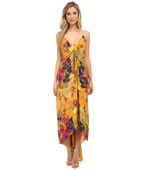 Nicole Miller - Angelina Maxi Dress (Marigold) Women