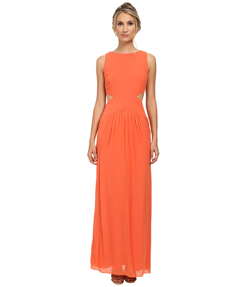 Nicole Miller - Queen Of The Night Gown (Coral) Women's Dress