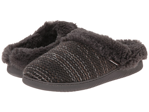 MUK LUKS - Knit Clogs (Grey) Women's Slippers