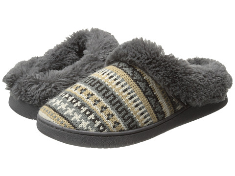 MUK LUKS - Knit Clogs (Brown) Women's Slippers
