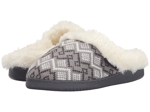 MUK LUKS - Knit Clogs (Grey 2) Women's Slippers