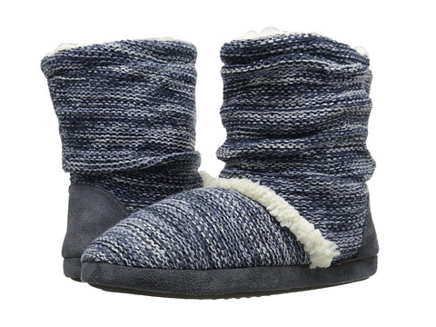 MUK LUKS - Scrunch Boot (Grey) Women