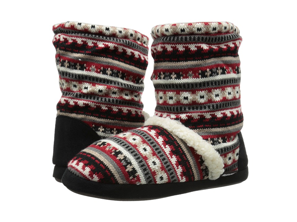 MUK LUKS - Scrunch Boot (Brown) Women