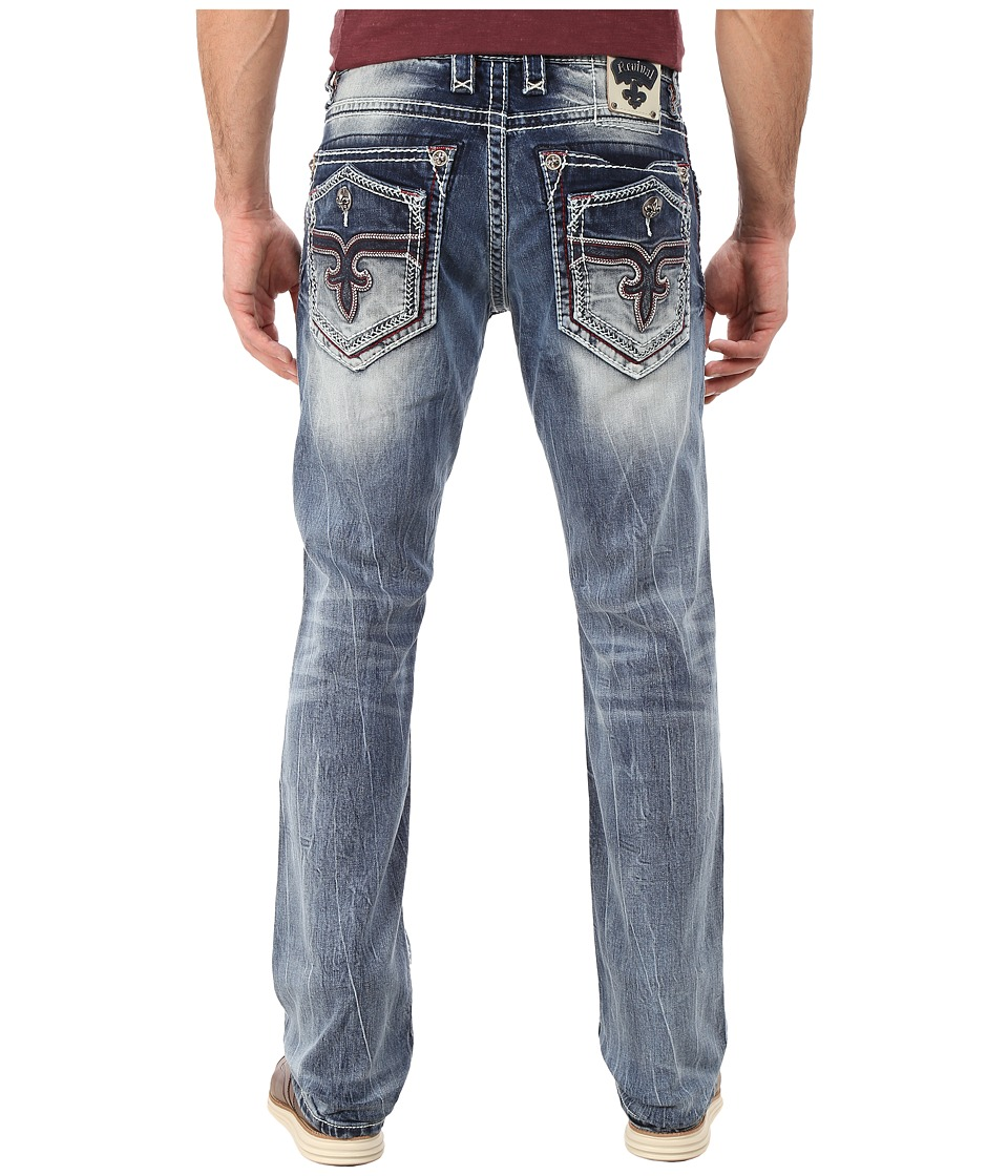 Rock Revival - Leotis (Light Blue) Men's Jeans