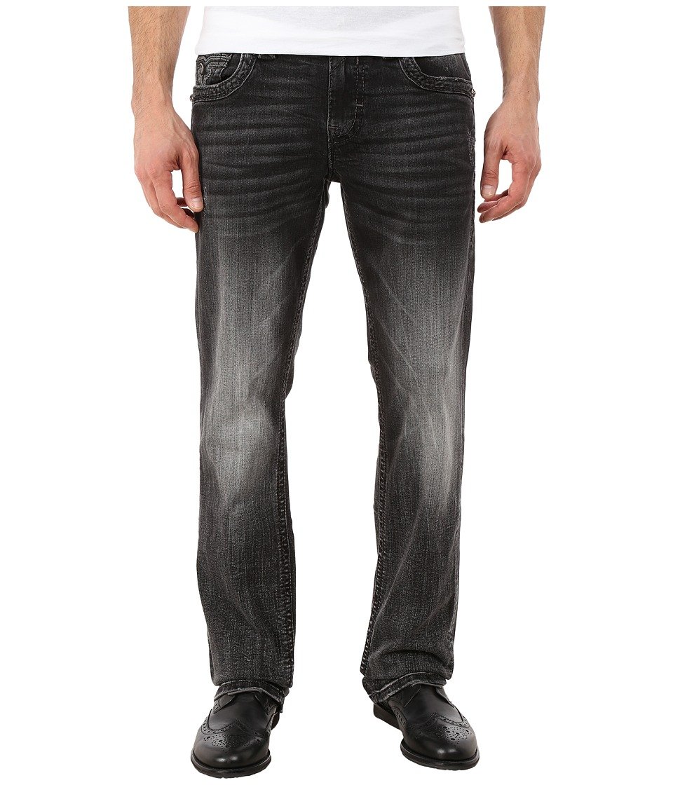 Rock Revival - Noel J (Charcoal Black) Men's Jeans