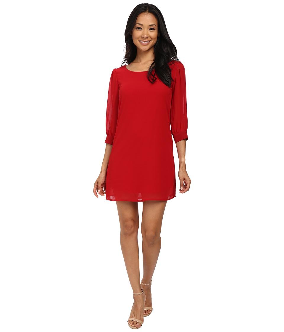 Gabriella Rocha - Delphine Shift Dress (Poppy Red) Women's Dress