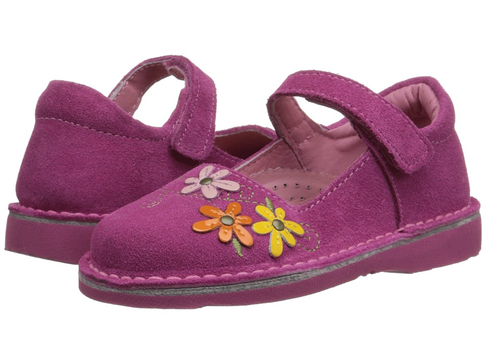 Kid Express - Lilian (Toddler/Little Kid/Big Kid) (Fuchsia Suede) Girl's Shoes