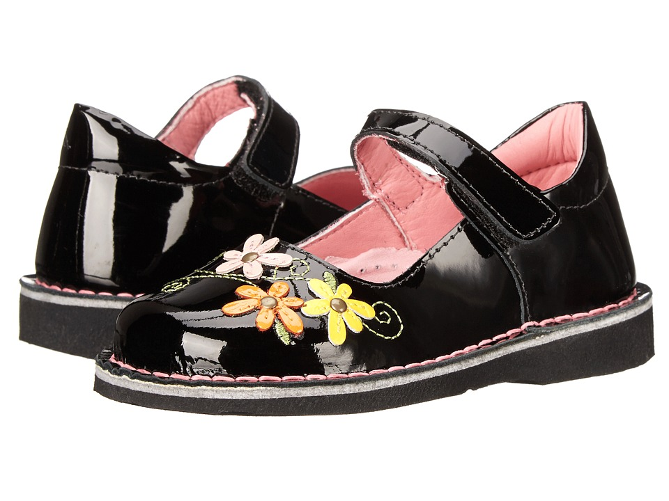 Kid Express - Lilian (Toddler/Little Kid/Big Kid) (Black Patent) Girl's Shoes
