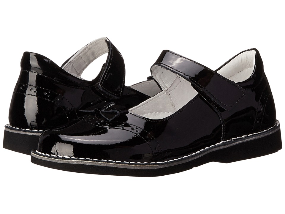 Kid Express - Kenzie (Toddler/Little Kid/Big Kid) (Black Patent) Girls Shoes