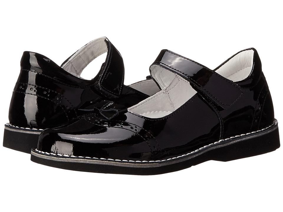 Kid Express - Kenzie (Toddler/Little Kid/Big Kid) (Black Patent) Girls Shoes