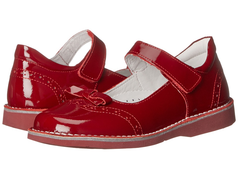 Kid Express - Kenzie (Toddler/Little Kid/Big Kid) (Cherry Patent) Girls Shoes