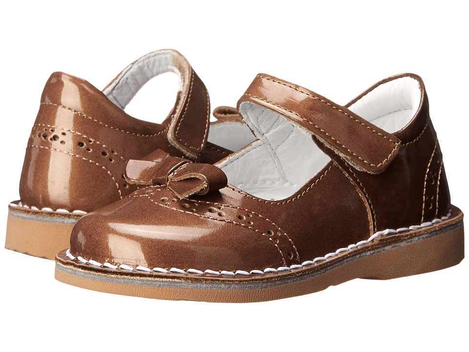 Kid Express - Kenzie (Toddler/Little Kid/Big Kid) (Bronze Patent) Girls Shoes