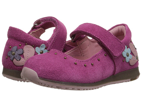 Kid Express - Taylor (Toddler/Little Kid) (Fuchsia Suede) Girl's Shoes