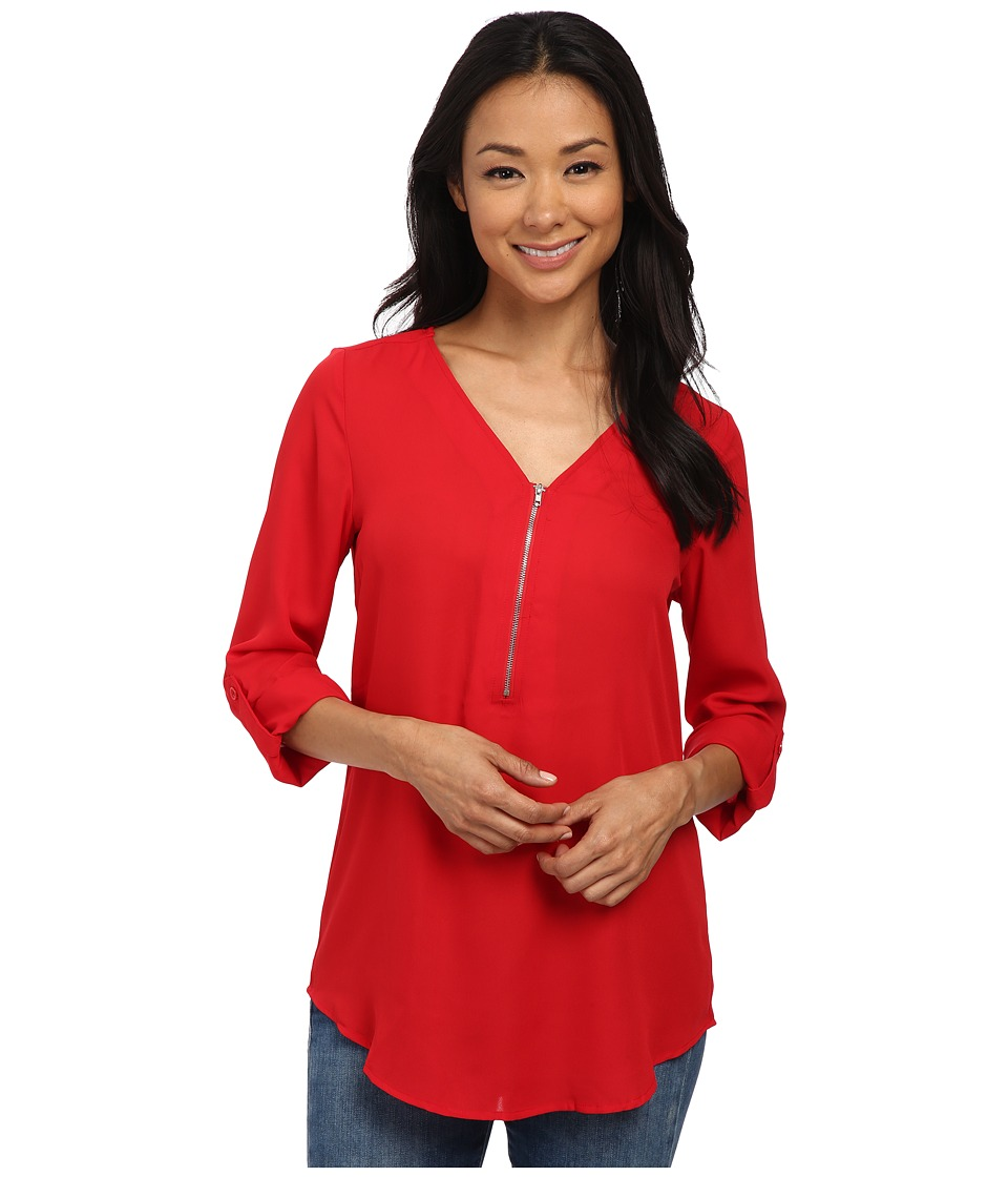 Brigitte Bailey - Rachel Blouse (Red) Women's Blouse