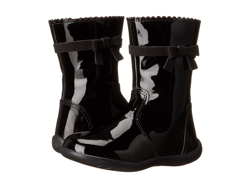 Kid Express - Callie (Toddler/Little Kid) (Black Patent) Girls Shoes