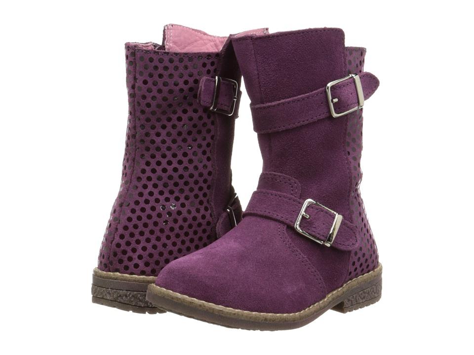 Kid Express - Brooke (Toddler/Little Kid/Big Kid) (Eggplant Combo) Girls Shoes