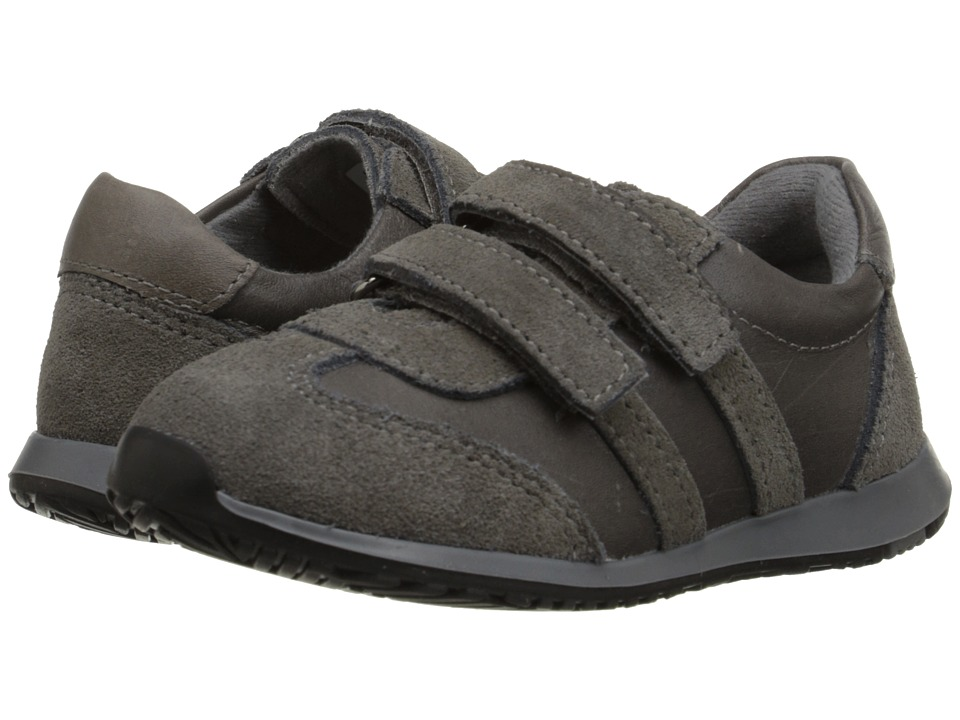 Kid Express - Parker (Toddler/Little Kid) (Gray Combo) Boy's Shoes