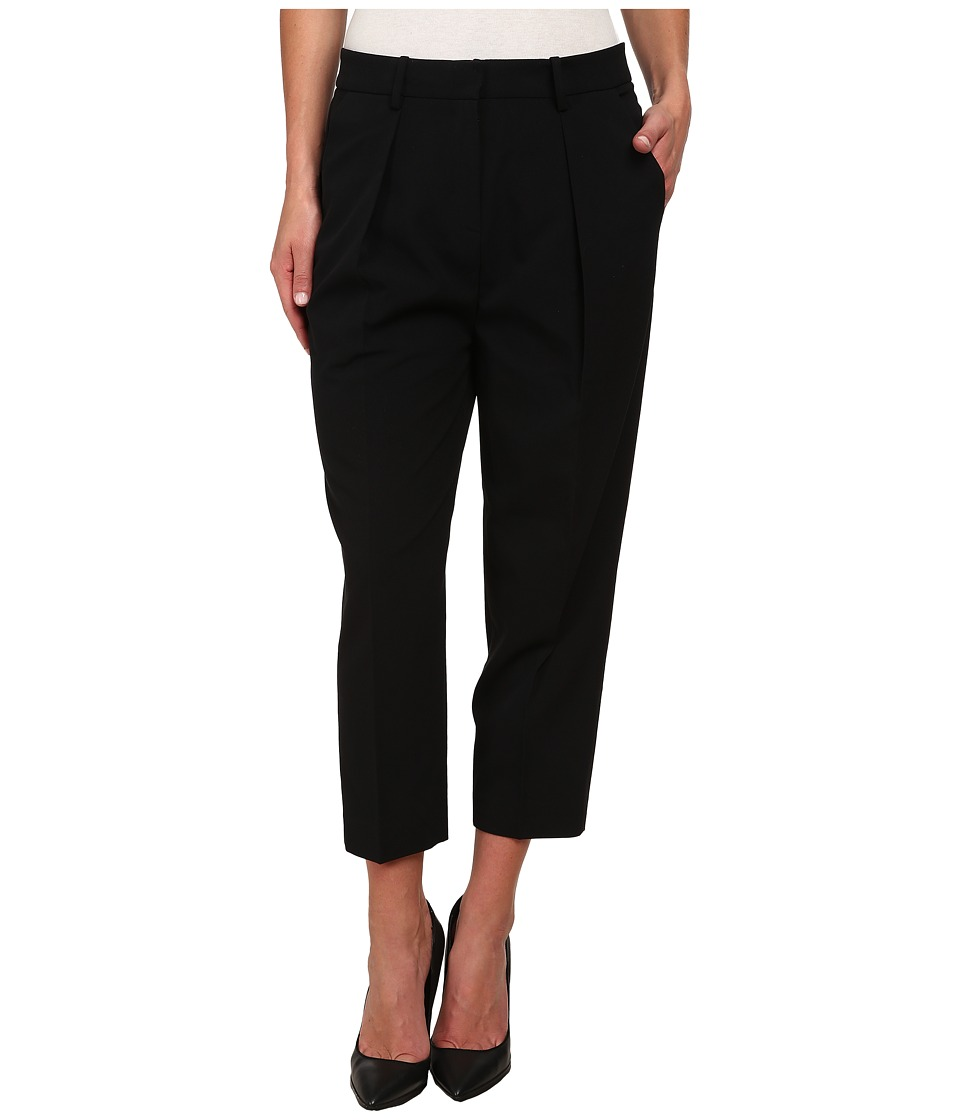 Anne Klein - Saville Pleated Pants (Black) Women's Casual Pants