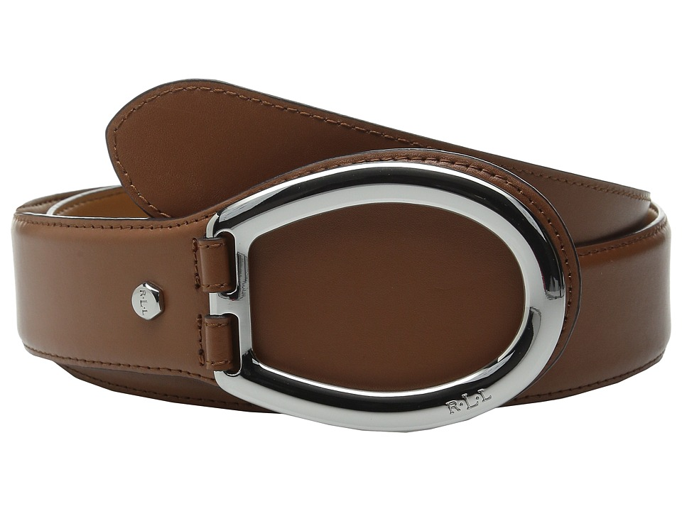 LAUREN Ralph Lauren - Classics 1 3/8 Vachetta D-Ring (Lauren Tan) Women's Belts