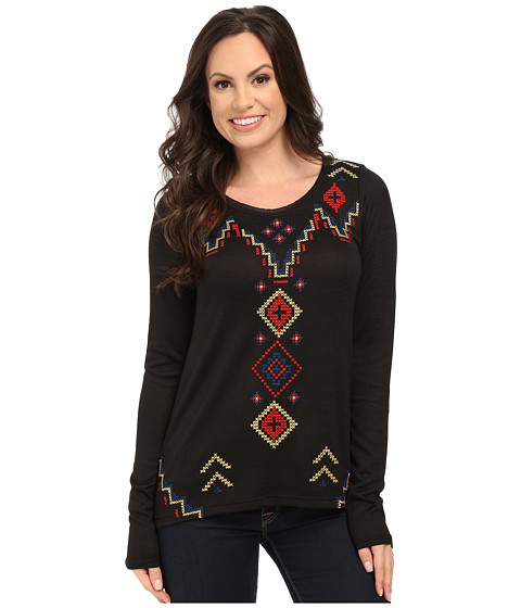 Roper - 0020 Sweater Jersey Tunic (Black) Women