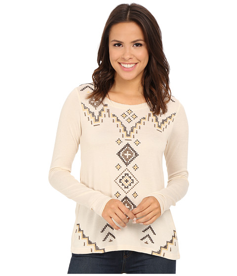 Roper - 0020 Sweater Jersey Tunic (White) Women