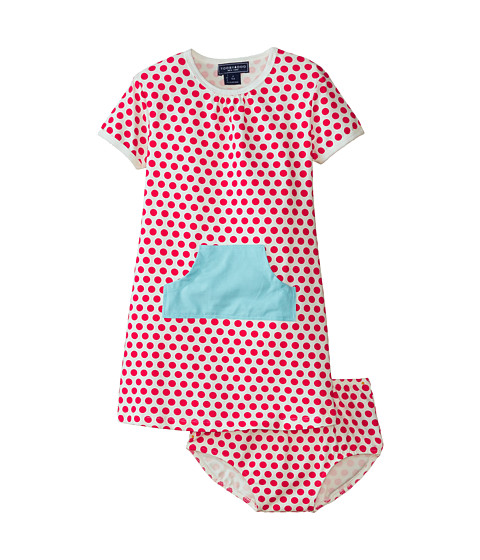 Toobydoo - The Diane Pocket Dress (Infant/Toddler) (Red) Girl