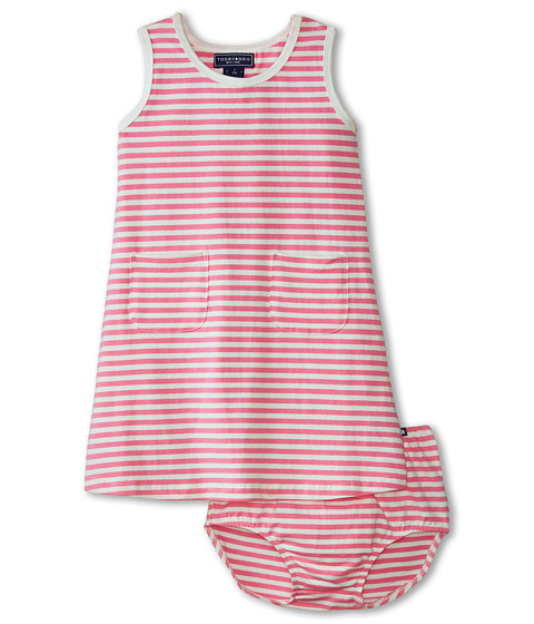 Toobydoo - The Marine Tank Dress (Infant/Toddler) (Pink) Girl