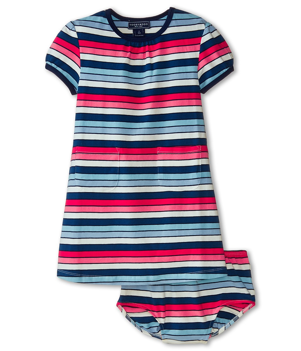 Toobydoo - The Danielle Pocket Dress (Infant/Toddler) (Multi) Girl's Dress