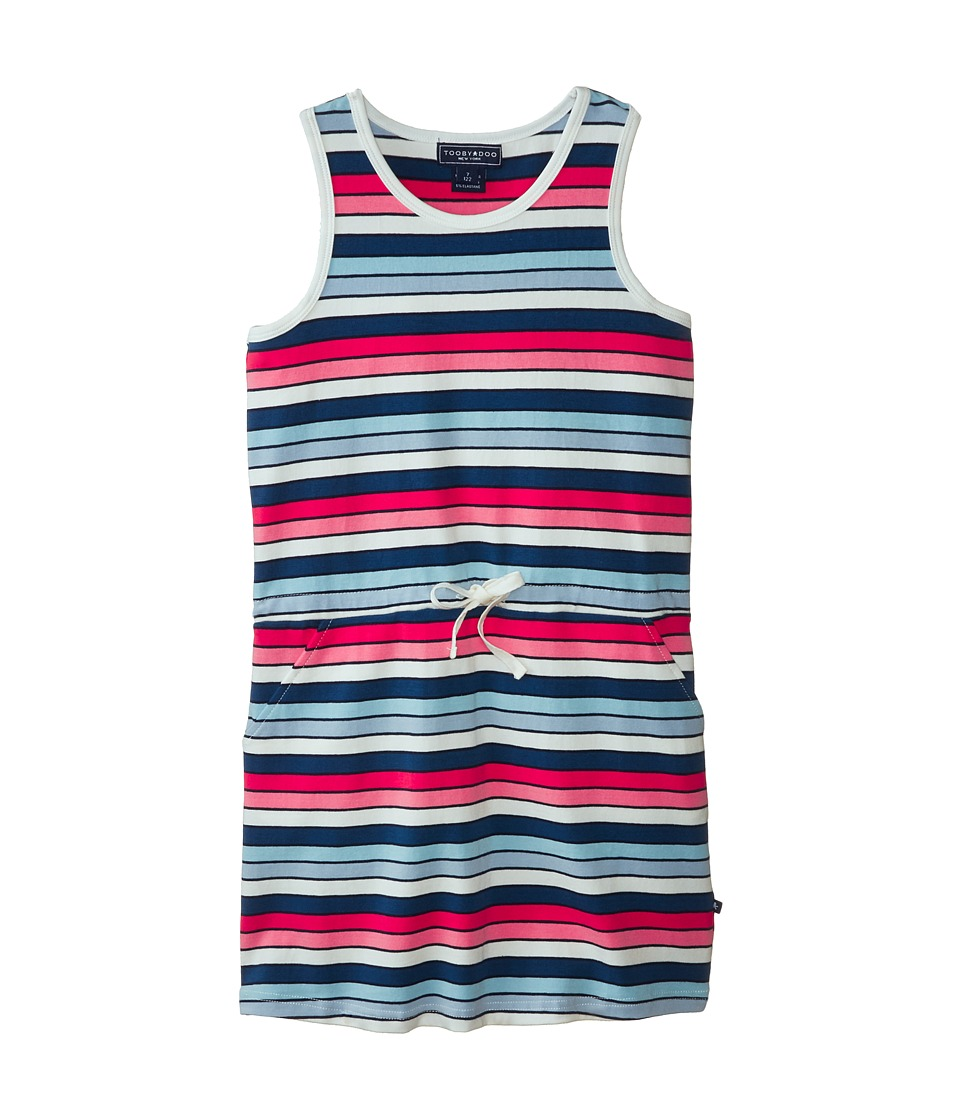 Toobydoo - The Maribelle Beach Dress (Toddler/Little Kids/Big Kids) (Multi) Girl