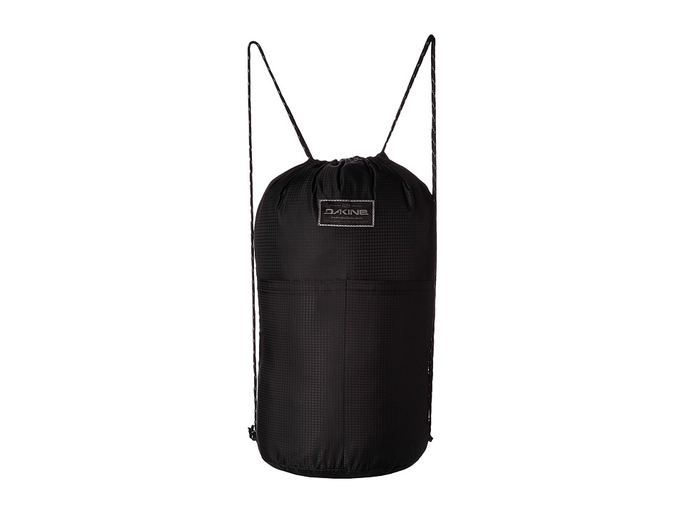Dakine - Stashable Cinchpack Backpack 19L (Black) Backpack Bags