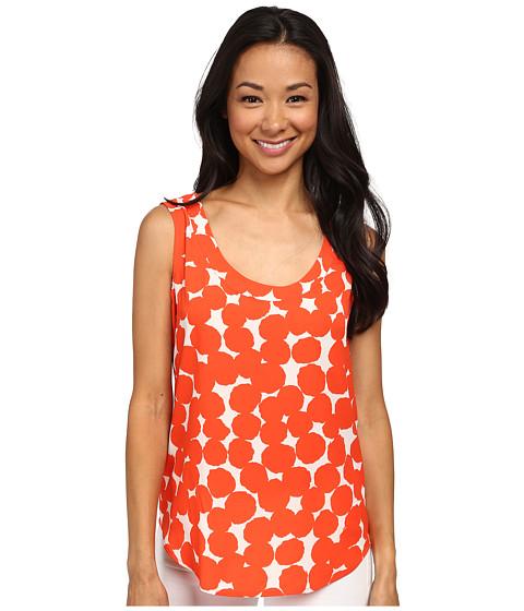 Anne Klein - Abstract Dots Shell (Orange/White) Women