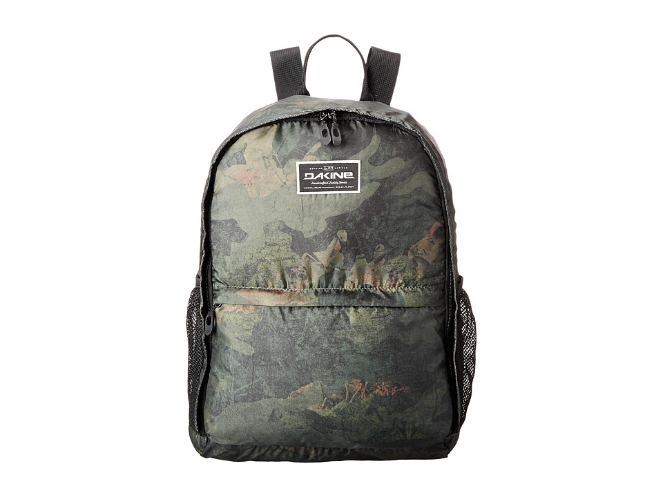 Dakine - Stashable Backpack 20L (Peat Camo) Backpack Bags