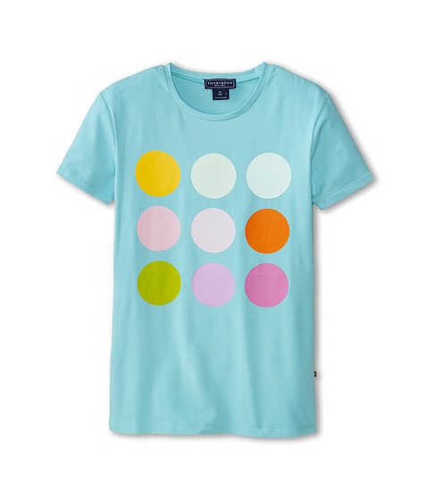 Toobydoo - Le Macaron Summer Tee (Toddler/Little Kids/Big Kids) (Blue) Girl's T Shirt